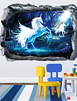 Animal Wall Stickers 3D Wall Stickers Decorative Wall Stickers,Vinyl Material Home Decoration Wall Decal