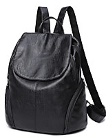 Women Bags All Seasons PU Backpack for Casual Office & Career Black