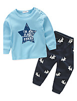 Boys' Others Sets,Cotton Spring Fall Long Sleeve Clothing Set