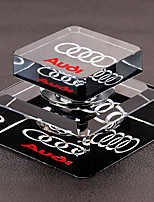 Car Perfume Ornament Car Logo  Glass Automotive Air Purifier