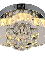 LightMyself Stepless Dimming Modern Crystal Ceiling Lamp Indoors Lights for Living Room Bedroom Dining Room