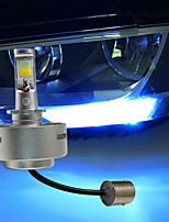2PCS suteng LED  Daytime Running Light  Width Lamp Double Color Bright White and Blue Light  8W COB DC12V
