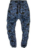 Homme Pantalons de Course Respirable Confortable Pantalon / Surpantalon pour Course Décontracté Exercice & Fitness Polyester Mince Vert