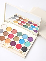 3 Lidschattenpalette Schimmer Mineral Lidschatten-Palette Puder Alltag Make-up Party Make-up Feen Makeup