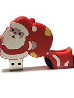 32gb natal usb flash drive cartoon criativo santa claus natal presente usb 2.0