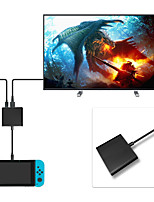 Недорогие -usb type-c to hdmi adapter для nintendo switch / samsung galaxy s8 / macbook - черный