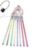 30CM 8 Tube LED Meteor Rain Light Decoration Tube Lights for Christmas Party US Plug EU Plug AC110 220V Festival Decoration 1pcs