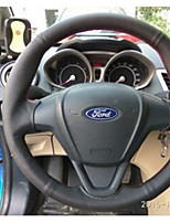 Automotive Steering Wheel Covers(Leather)For Ford All years Fiesta