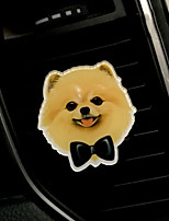 Pare-choc de la grille de sortie d'air de voiture Mignon Cartoon Creative Puppy Purificateur d'air automobile