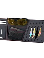 Vehicle Sunvisor Car Organizers For universal Leather