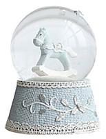 Balls Music Box Toys Circular Horse Crystal Romantic Pieces Unisex Birthday Gift