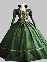 Einteilig/Kleid Gothik Niedlich Klassische/Traditionelle Lolita Punk Viktorianisch Rokoko Prinzessin Vintage Inspirationen Elegant Cosplay