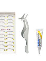 Eyelashes lash Lower Lashes Eyes Fiber Transparent Band
