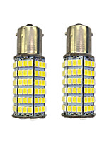 4W 1156 BAY15S PY21W 120SMD2835 Turn Signal Lamp for Car White DC12V 2PCS