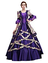 Cosplay Costumes Cinderella Goddess Santa Suits Vampire Festival/Holiday Halloween Costumes Purple Solid Color Lace Dress Halloween