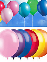 8inch - 100pcs Mixed Color Latex Balloons Beter Gifts®Party Decoration Supplies - Yield rate about 98%