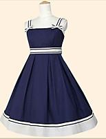 Un Pezzo/Vestiti Gotico Dolce Lolita Classica e Tradizionale Ispirazione Vintage Elegant Da principessa Cosplay Vestiti Lolita Bianco