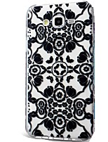 For Case Cover Ultra-thin Pattern Back Cover Case Lace Printing Soft TPU for Samsung Galaxy J7 (2016) J7 (2017) J7 V J7 Perx J7 J5 (2016)