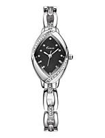 Women's Bracelet Watch Quartz Alloy Band Sparkle Silver Gold