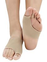 1Pair Hallux Valgus Bunion Lateral Silicone Gel Foot Pad Big Bone Toe Adjuster