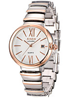 Women's Fashion Watch Quartz Alloy Band Casual Silver Rose Gold