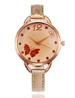 Жен. Модные часы Наручные часы Уникальный творческий часы Китайский Кварцевый PU Группа С подвесками Повседневная Черный Белый Синий