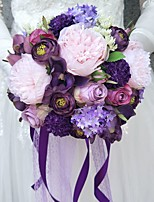 Wedding Flowers Bouquets Wedding Polyester 9.84