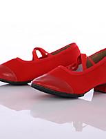 Damen Modern Leinwand Sneaker Im Freien Maßgefertigter Absatz Rot Maßfertigung