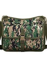 Men Bags All Seasons Nylon Shoulder Bag Ruffles for Casual Outdoor Military Green Light Green Gray Green Army Green Black/White