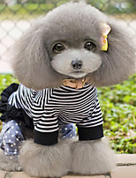Dog Clothes/Jumpsuit Dog Clothes Casual/Daily Stripe