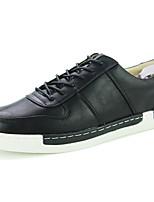 Homme Chaussures Polyuréthane Printemps Automne Confort Semelles Légères Basket Lacet Pour Décontracté Noir Gris Jaune