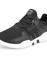 Da uomo Scarpe PU (Poliuretano) Autunno Inverno Comoda Sneakers Lacci Per Casual Bianco Nero Bianco/nero