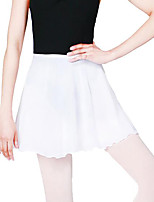 Ballet Women's Performance Polyester 1 Piece High Skirts