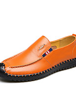Homme Mocassins et Chaussons+D6148 Chaussures de plongée Confort Moccasin Automne Hiver Vrai cuir Cuir Mariage Décontracté Soirée &