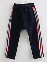 Jungen Jeans Streifen Baumwolle Herbst