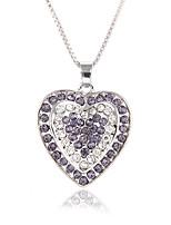 Жен. Ожерелья с подвесками Цирконий Круглый Цирконий Мода Elegant Бижутерия Назначение Свадьба Для вечеринок
