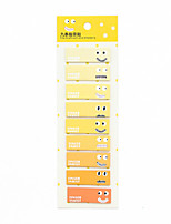 1 PC Expression Series Self-Stick Note Set(Random Color)