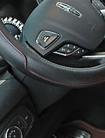 Automotive Steering Wheel Covers(Leather)For Lincoln All years MKT MKZ