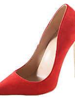 Women's Shoes Fabric Spring Fall Basic Pump Heels Stiletto Heel Pointed Toe For Party & Evening Dress Royal Blue Almond Wine Red Black