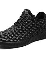 Da uomo Scarpe PU (Poliuretano) Autunno Inverno Comoda Sneakers Lacci Per Casual Nero Beige Grigio