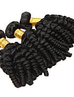 Недорогие -3 предмета Черный Свободные волны Перуанские волосы Ткет человеческих волос Наращивание волос