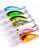7 pcs Fishing Lures Hard Bait Minnow g/Ounce,100mm mm/4