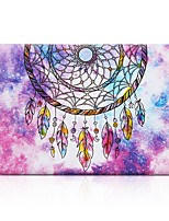 cheap -MacBook Case for MacBook Air 13-inch Macbook Air 11-inch MacBook Pro 13-inch with Retina display Feathers Dream Catcher TPU Material