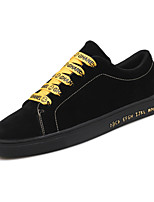 Men's Shoes Customized Materials Summer Fall Comfort Sneakers Lace-up For Casual Outdoor Black/Yellow Black/White