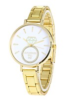Women's Fashion Watch Wrist watch Chinese Quartz Alloy Band Casual Gold
