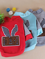 Dog Clothes/Jumpsuit Dog Clothes Casual/Daily Cartoon Blue Red Gray