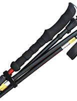 5 Nordic Walking Poles 135cm (53 Inches) Form Fit Rubber Aluminum Alloy