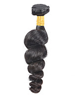 Natural Color Hair Weaves Malaysian Texture Loose Wave 1 Year 1 Piece hair weaves