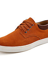 Men's Shoes Suede Fall Winter Comfort Sneakers Lace-up For Casual Outdoor Wine Blue Brown Coffee Black