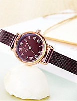 Women's Fashion Watch Quartz Water Resistant / Water Proof Alloy Band Casual Brown Rose Gold